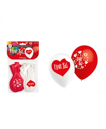 GLOBOS PACK I LOVE YOU 10UX12b REF. HG2015
