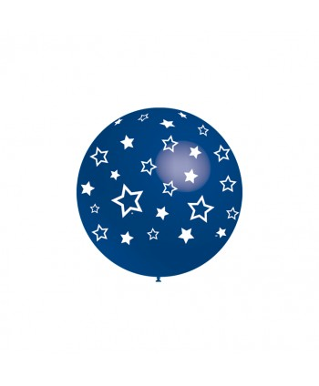 BALLOONIA GLOBOS ESTRELLAS SURT. 8UX12B 32CM 10543