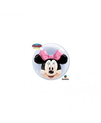 "GLOBO BUBBLES 24"" DOUBLE MINNIE"