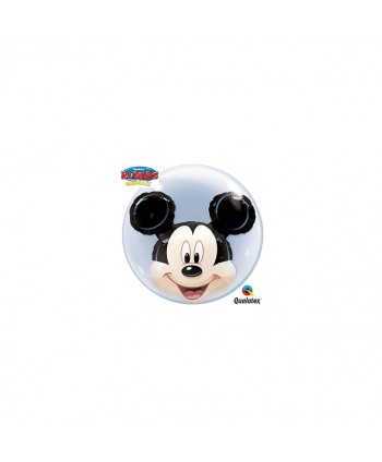 """GLOBO BUBBLES 24"""" DOUBLE MICKEY MOUSE"""