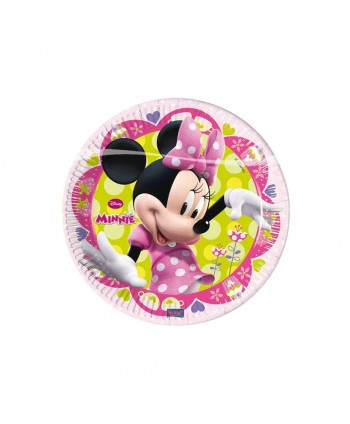 MINNIE PLATOS 19,5CM 8UN.