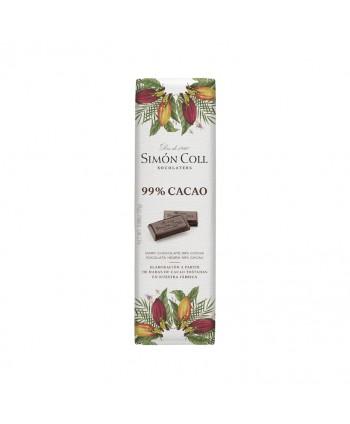 SIMON COLL CHOCOLATINAS 99% CACAO 14UX25GR.
