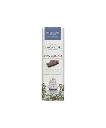 SIMON COLL CHOCOLATINAS 54% CACAO S/AZ. 14UX25GR.