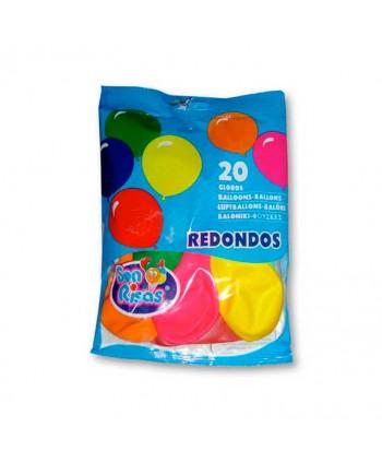 GLOBOS REDONDOS 24X20UN.ART.105-CT