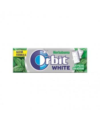 ORBIT WHITE HIERBABUENA 30UN.