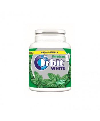 ORBIT BOX WHITE HIERBABUENA 6X64GR.(46GRAGEAS)