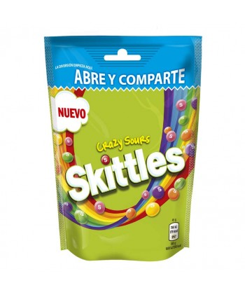 SKITTLES CRAZY SOURS 14X174GR.