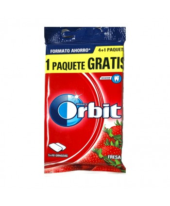 ORBIT FRESA PACK AHORRO 4+1