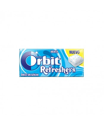 ORBIT REFRESHERS MENTA 16UN.