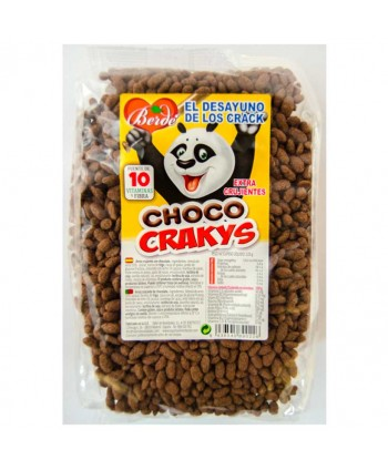 BERDE CEREALES CHOCO CRAKYS 12X225GR.