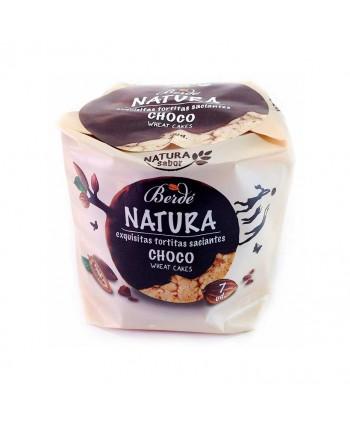 BERDE NATURA TORTITAS CHOCO 24X105GR.