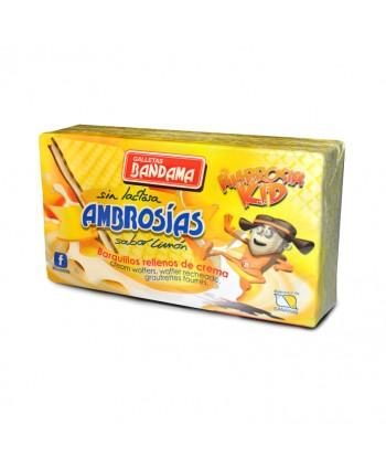 BANDAMA AMBROSIAS LIMON 14X130GR.