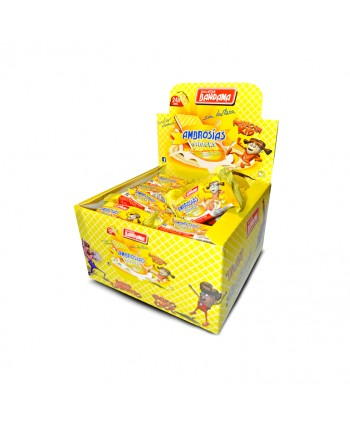 BANDAMA AMBROSIAS LIMON SNACKS 24X28GR.