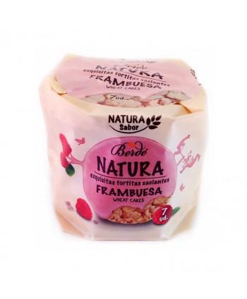 BERDE NATURA TORTITAS FRAMBUESA 24X105GR.