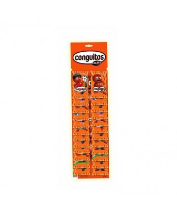 CONGUITOS CHOCOLATE 24X18GR.