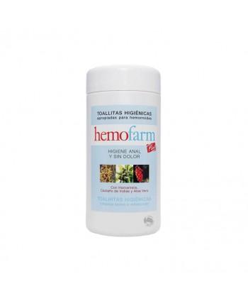 TOALLITAS HIGIENICAS HEMOFARM 60UN.BOTE