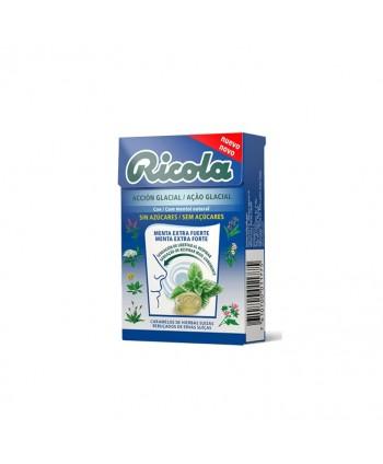 RICOLA CARAMELO MENTA EXTRA FUERTE S/AZ 20X50GR.