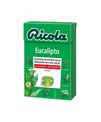 RICOLA CARAMELOS EUCALIPTO 20X50GR.