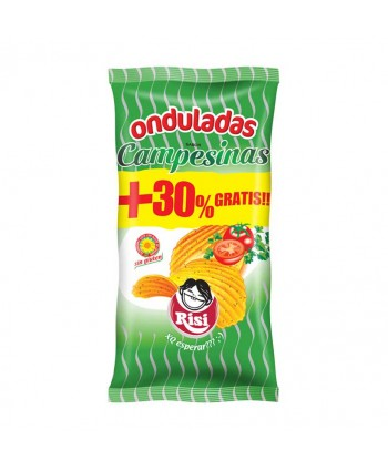 PAPAS ONDULADAS CAMPESINAS 9UX100GR