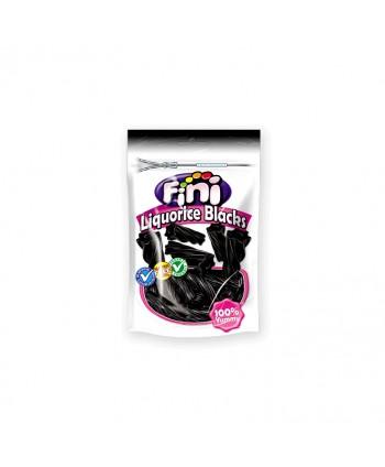 FINI DOYPACK LIQUORICE BLACKS 10X180GR.