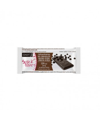 SIKEN GALLETAS CHOCOLATE NEGRO 112Kcal. 32X22GR.