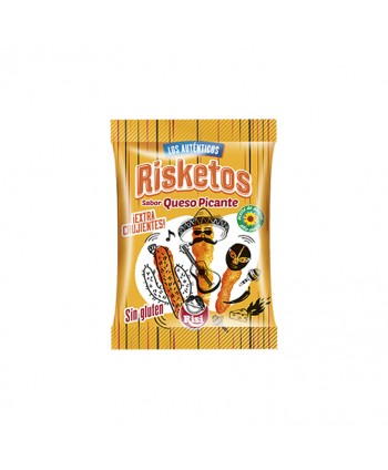 RISKETOS QUESO PICANTE 30X40GR.