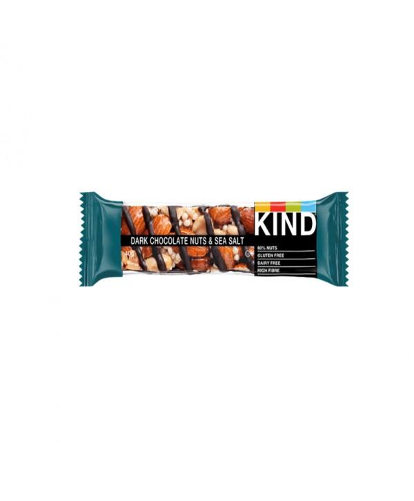 BARRITAS KIND DARK CHOCOLATE NUTS&SALT 12X40GR.