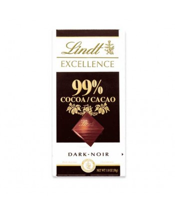 LINDT EXCELL. 99% CACAO 18X50GR.