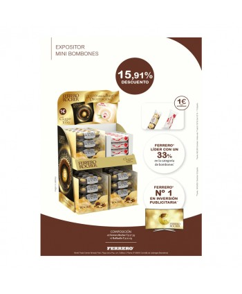 EXPOSITOR FERRERO CHECK OUT 1€ BM