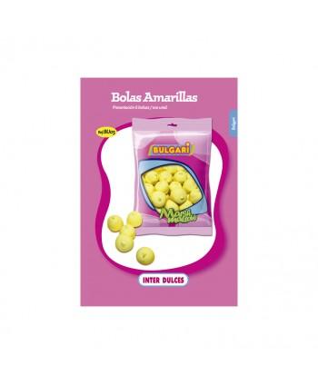 NUBES BOLAS AMARILLAS BOLSA 100U. APROX.