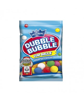 CHICLE DUBBLE B.GUM BALLS 15,5MM BLSITAS 12X90GR.
