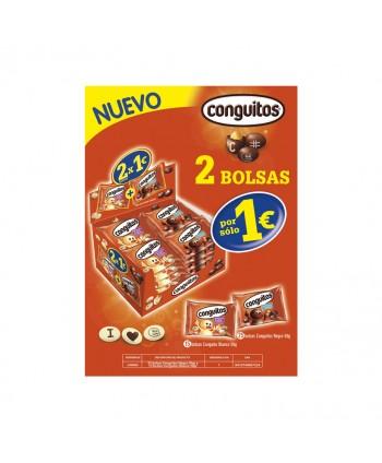 EXP.CNGUITS NEGR Y BLANC 2X1€ 45GR. L00079