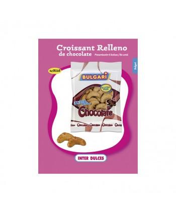 NUBES CROISSANT RELLENO DE CHOCOLATE 80U. APROX.