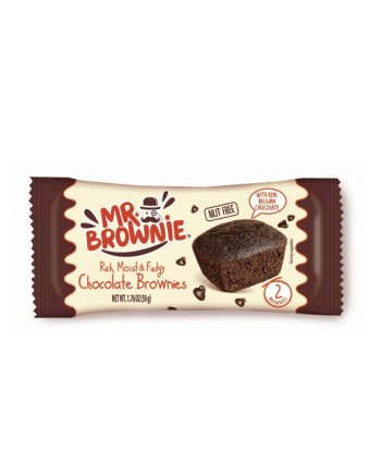 MR.BROWNIE CHOCOLATE BELGA (PACK 2UNX50GR.)
