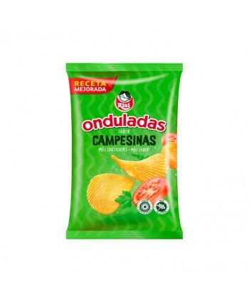 PAPAS ONDULADAS CAMPESINAS 24UX30GR.