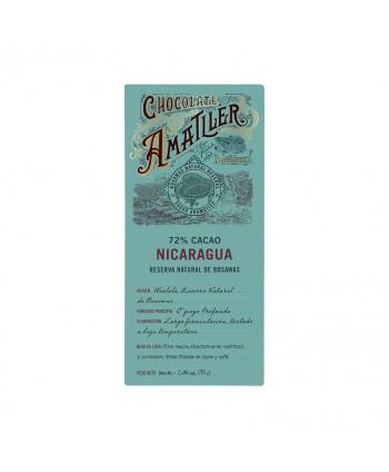 AMATLLER CHOCOLATE 72% NICARAGUA 10X70GR.