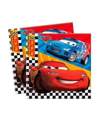 CARS SERVILLETAS 20X30UN.