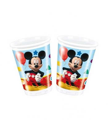 MICKEY PLAYFUL VASOS 8UN.REF.16134