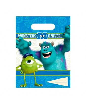 MONSTERS UNIV.BOLSAS 6UN.