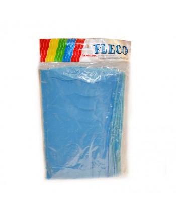 FLECO PLAST.AZUL CELESTE 25M.