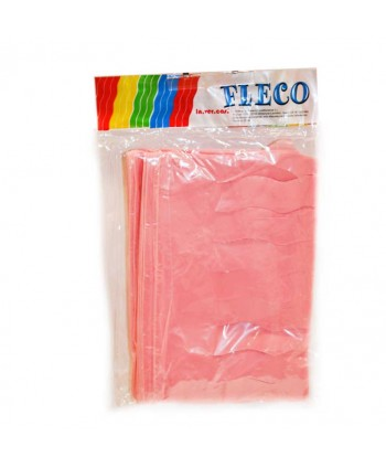 FLECO PLAST.ROSA 25M.