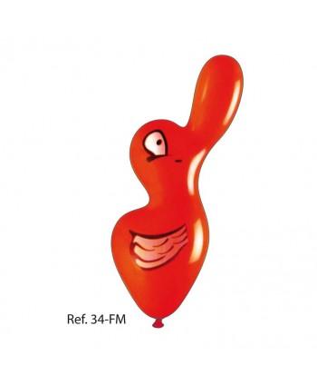 GLOBOS PATO GIGANTE 50UN.ART.34-FM