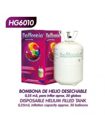 BALLOONIA BOMBONA DE HELIO 0,25m3 ART.HG6010