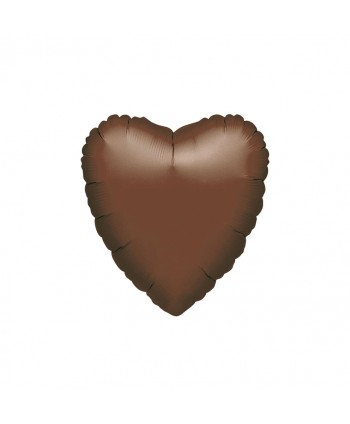 "GLOBO FOIL 18"" CORAZON CHOCOLATE"