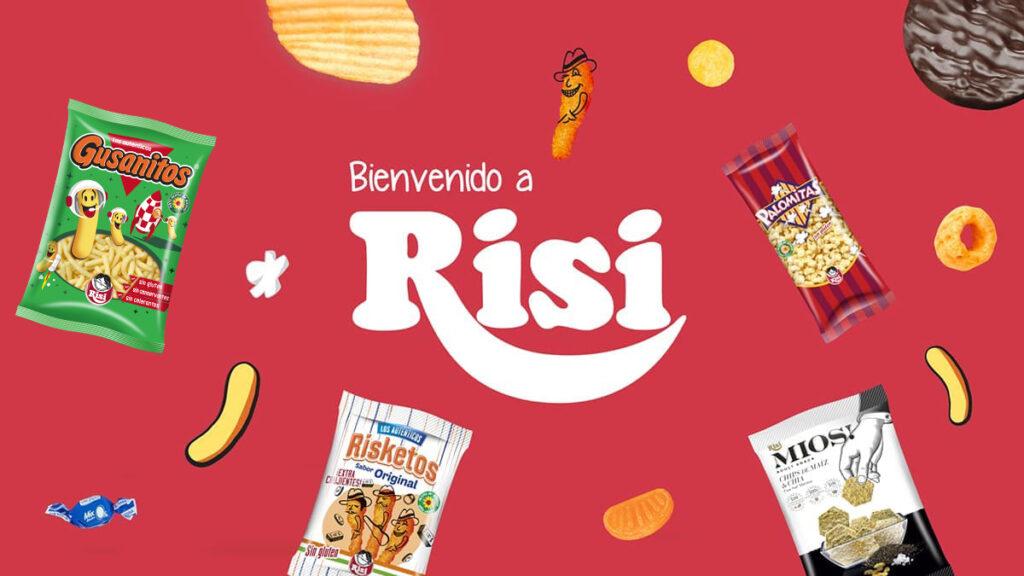 rebranding packaging Risketos