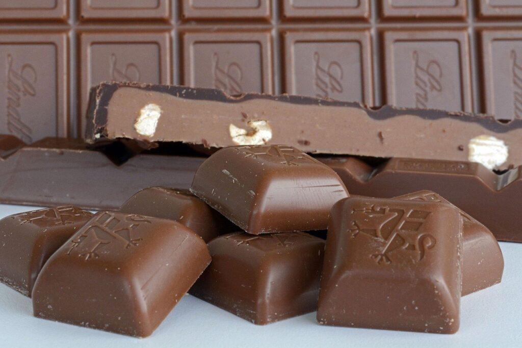 chocolates estacionales de Lindt